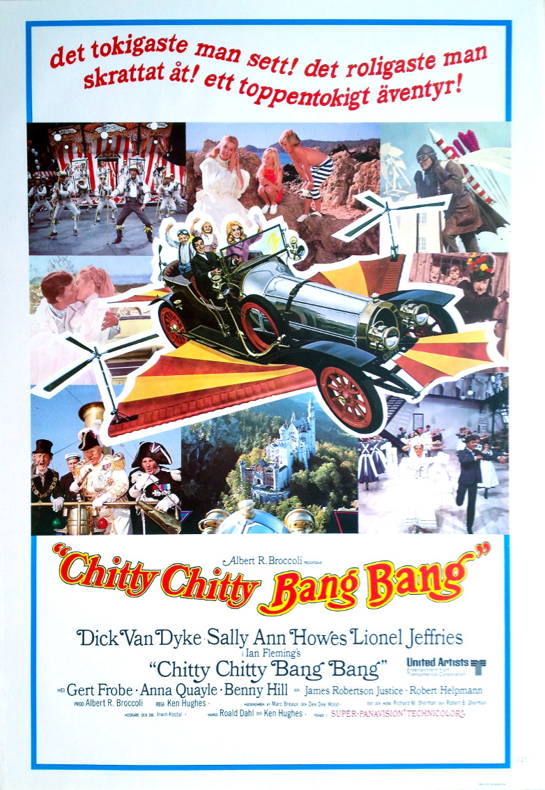 Chitty Chitty Bang Bang Swedish film poster