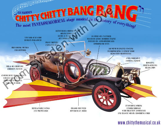 Chitty bang bang musical
