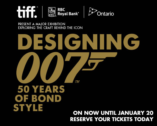 Designing bond exhibition toronto