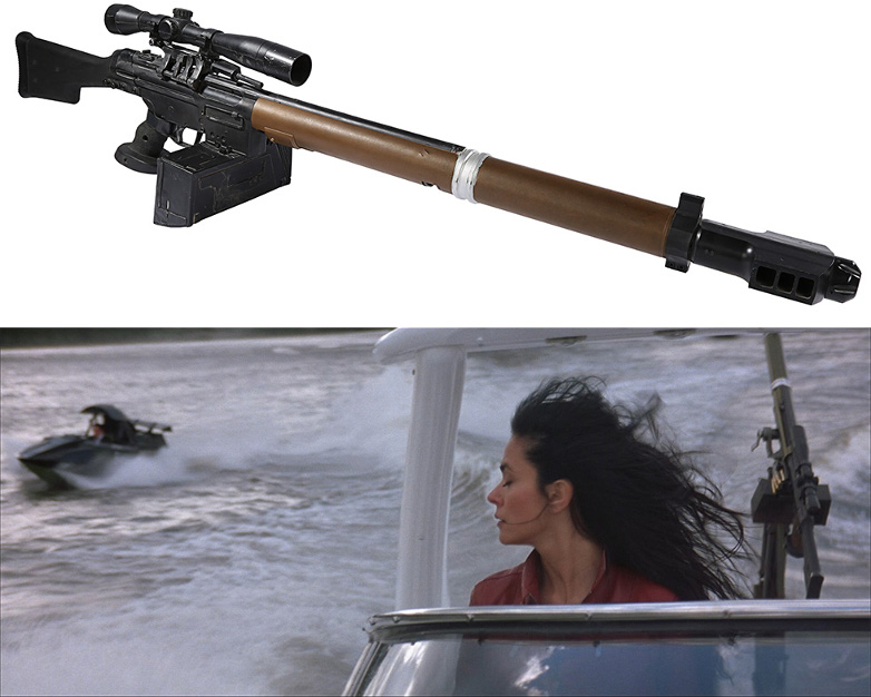 HK21 Boat-Mounted Gun from The World Is Not Enough
