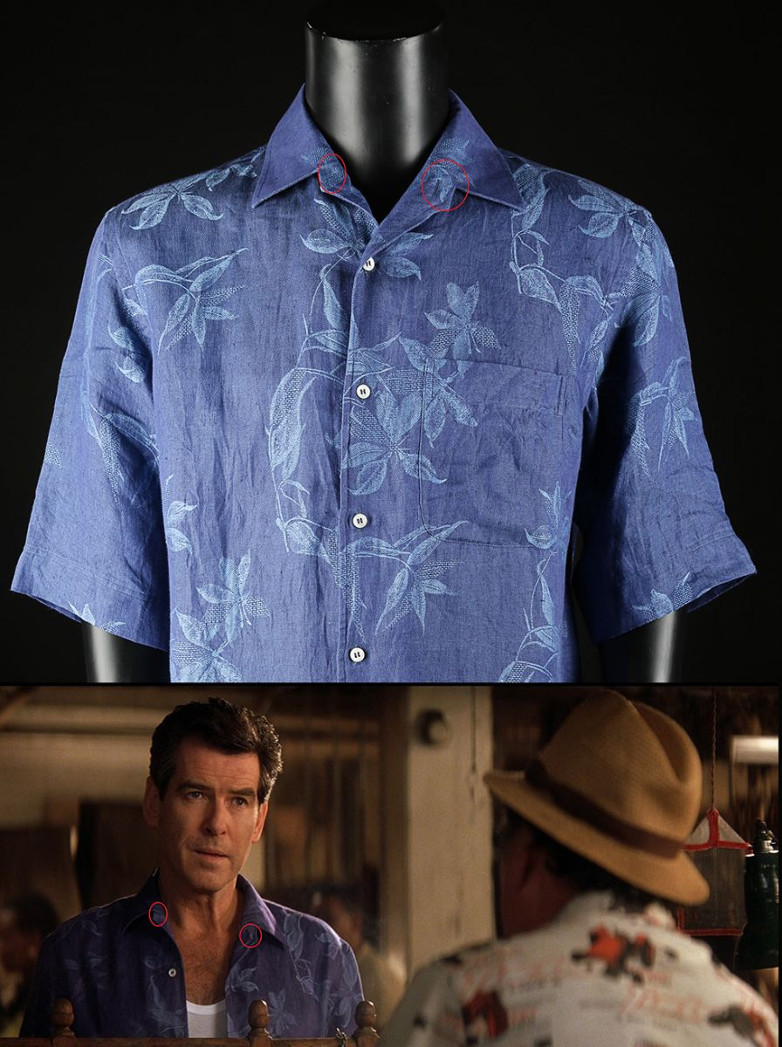 James Bond's (Pierce Brosnan) Floral Shirt from Die Another Day