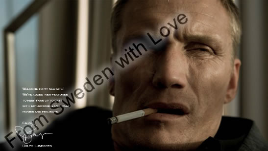Dolph Lundgren official website
