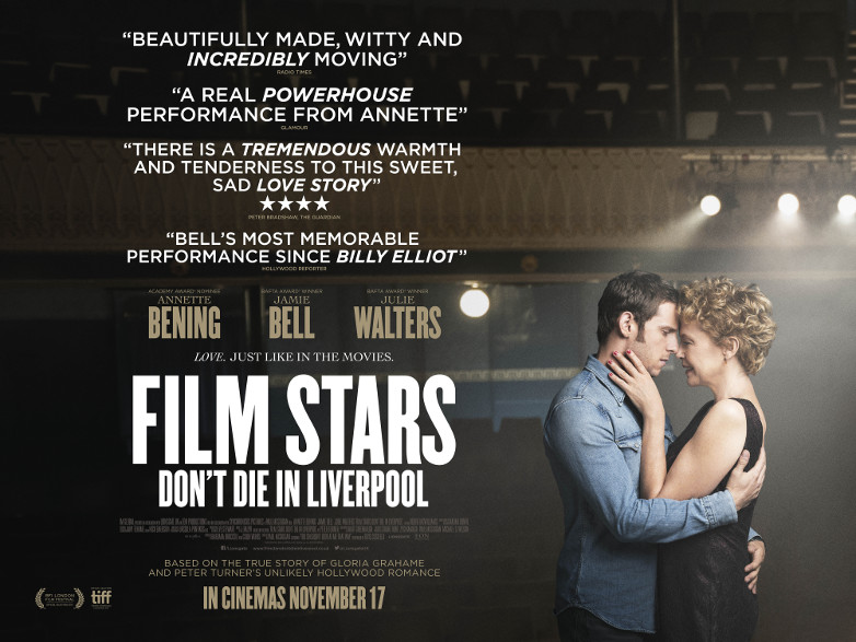 Film Stars Don't Die In Liverpool film poster