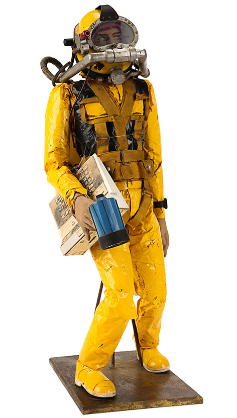 James Bond (Roger Moore) Scuba Diver Model Miniature