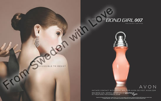 Gemma arterton bond girl 007 perfume
