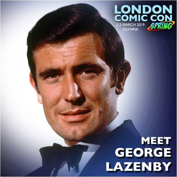 George Lazenby London Comic Con Spring 2019