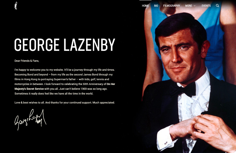 George Lazenby Official Facebook Instagram