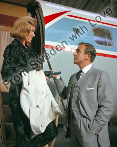 Honor blackman exclusive bondstars signing