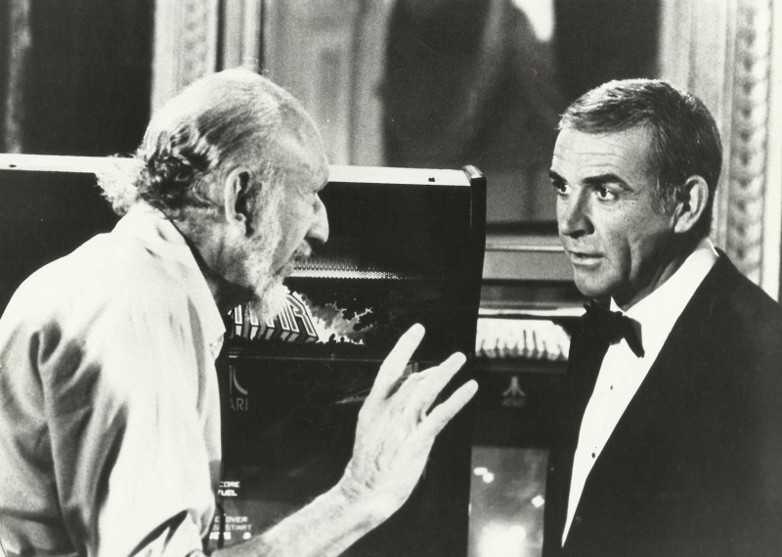 Irvin Kershner, Sean Connery, Never Say Never Again