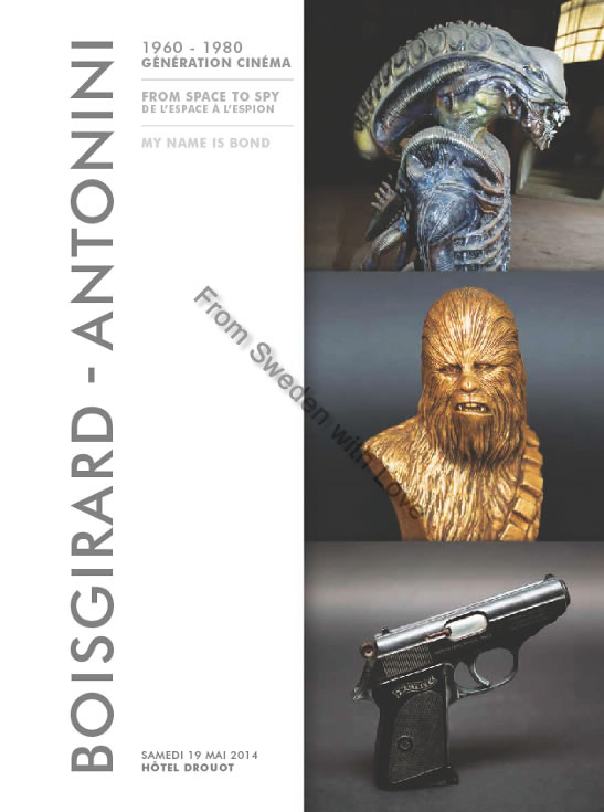 James bond 2014 paris auction