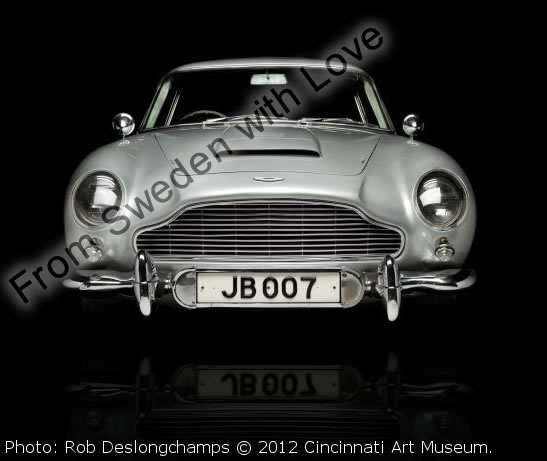 James bond aston martin cincinnati art museum