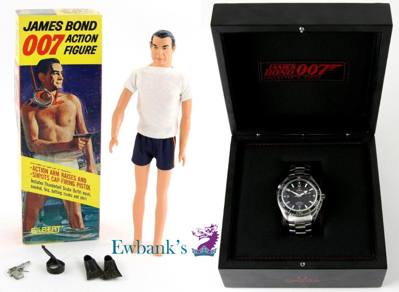 James Bond Auction Ewbanks Bond and Beyond