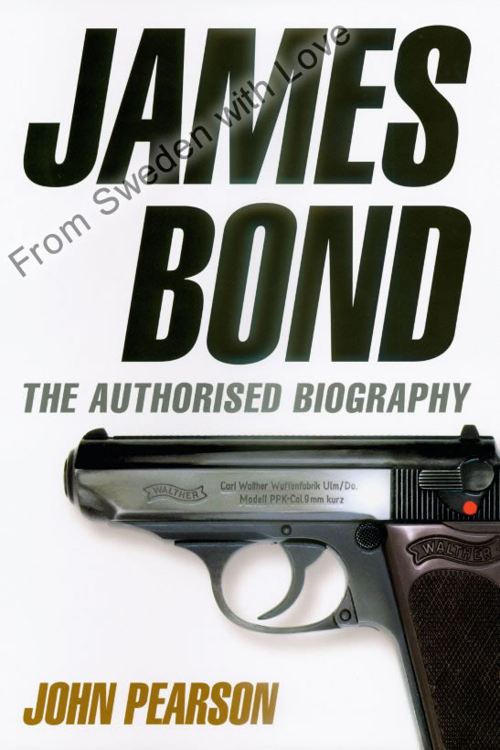 James bond biography hardcover