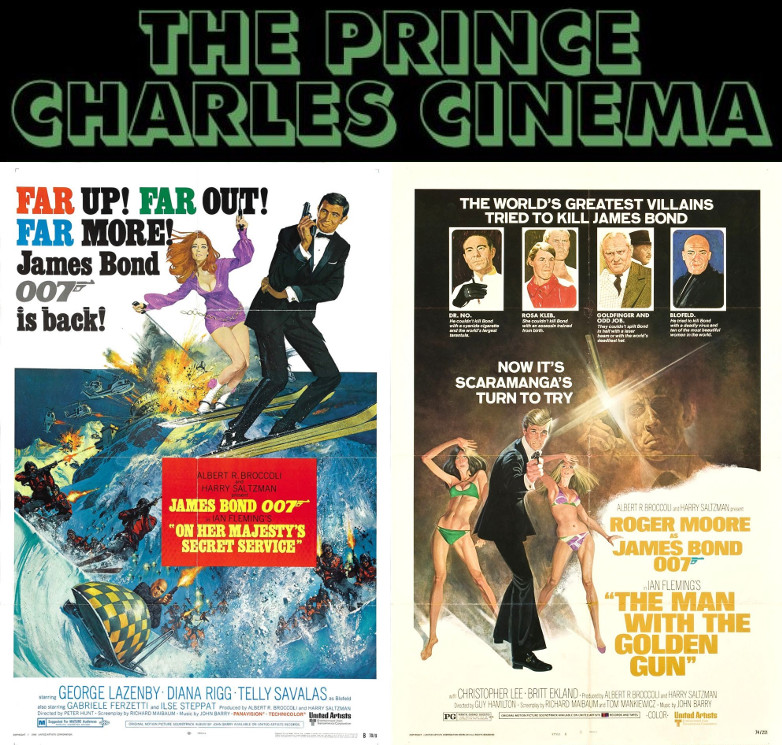 James Bond film screenings Prince Charles Cinema