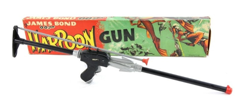 James Bond Harpoon Gun Ewbanks Auction