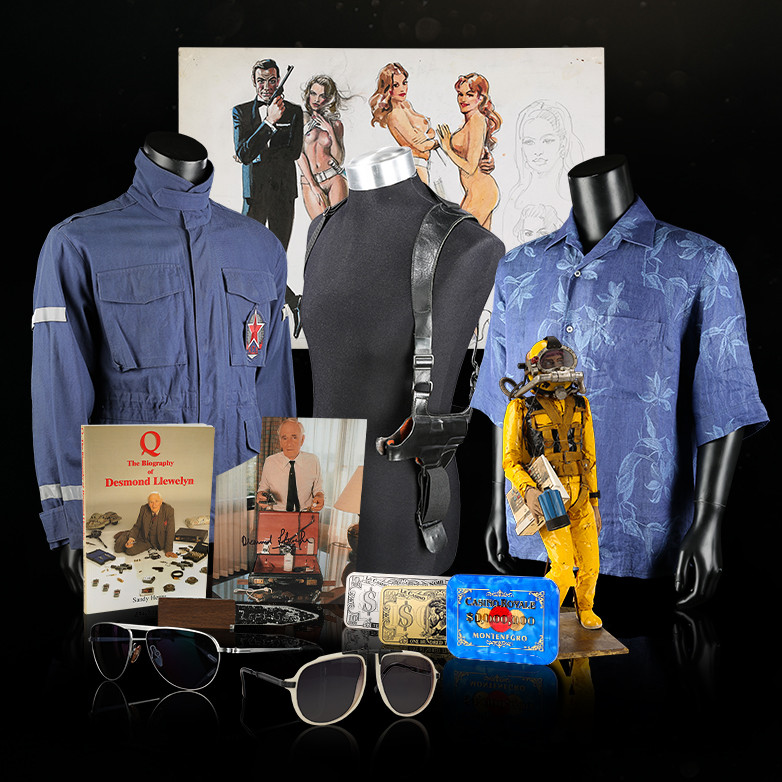 James Bond memorabilia Propstore auction London