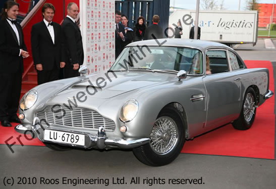 James bond aston martin db5 schweiz