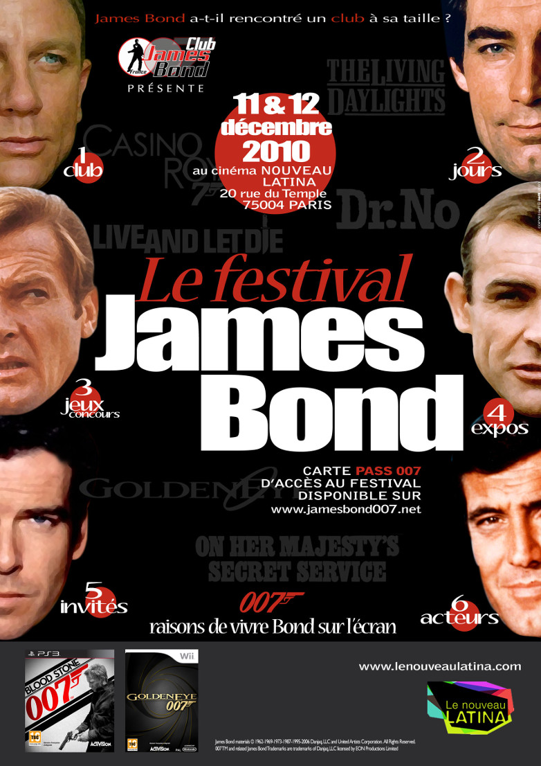 James bond festival paris