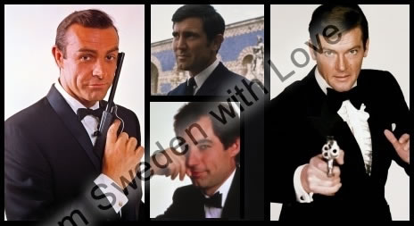 James bond filmerna TV4 film