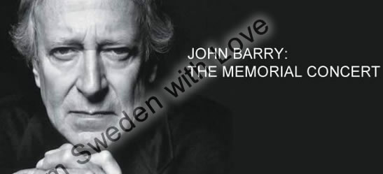 John barry memorial concert on bbc radio 2