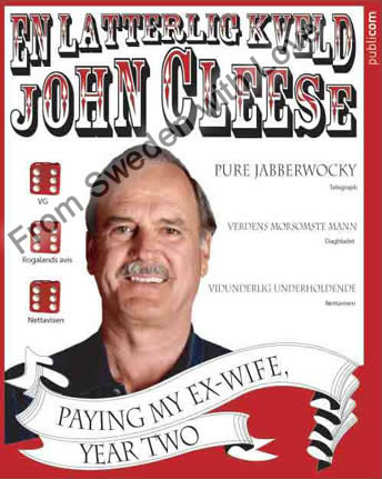 John cleese paying my ex wife year two