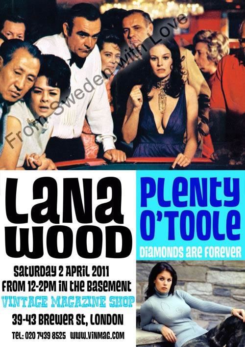 Lana wood signing april 2011