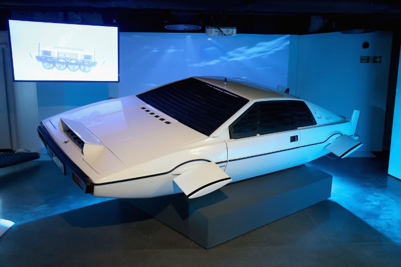 Lotus Esprit S1 Wet Nellie från 1977 års The Spy Who Loved Me