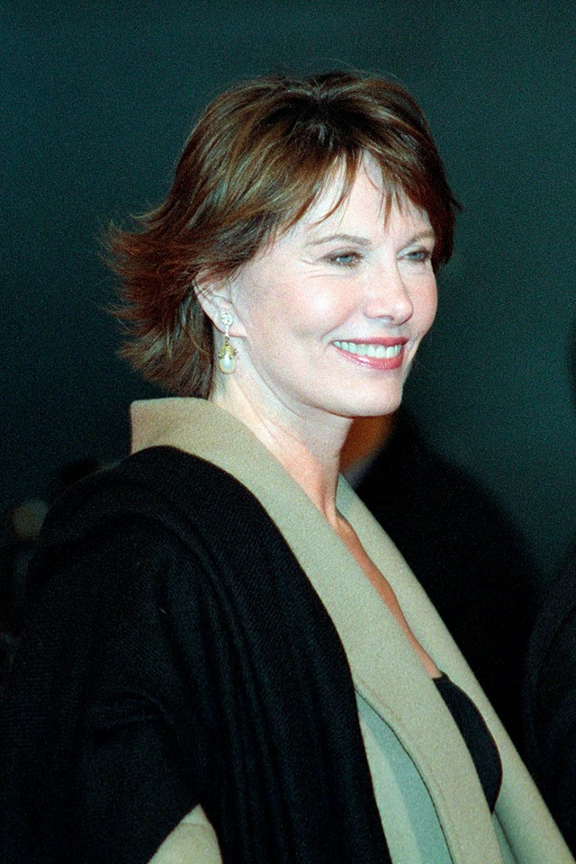 Maud Adams Die Another Day London premiere