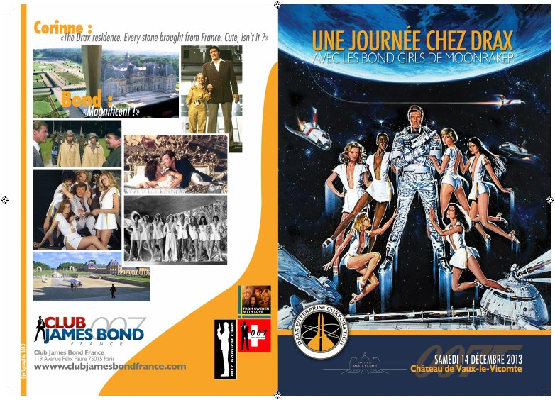 Moonraker Bond girls Chateu Vaux Le Vicomte