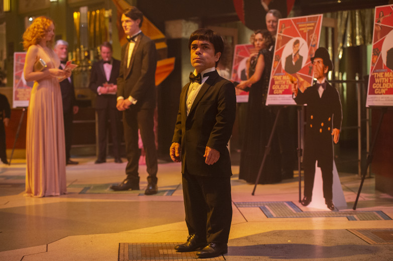 Peter Dinklage as Herve Villechaize in My Dinner with Herve