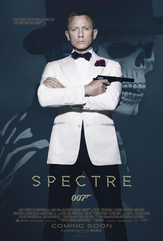 New official SPECTRE poster
