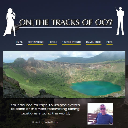 On the tracks of 007 20th anniversary