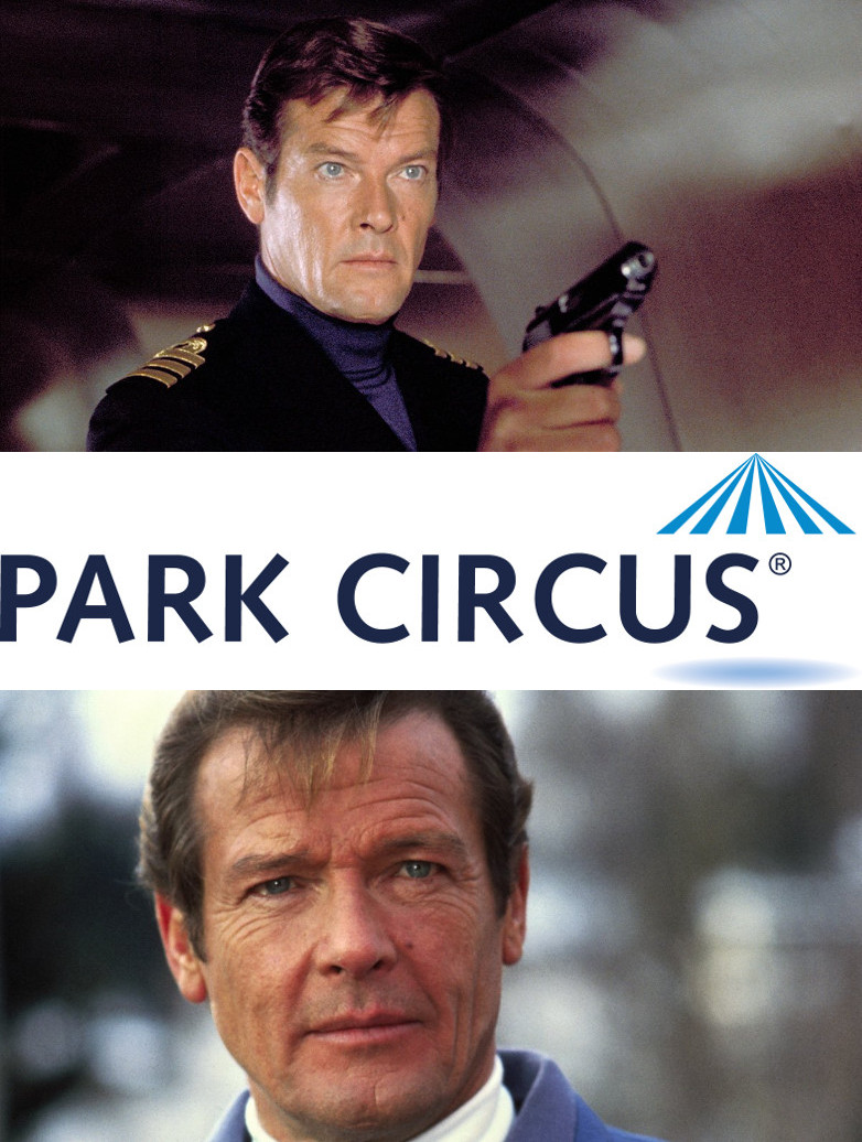 Roger Moore Park Circus James Bond films Unicef