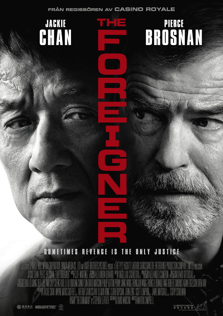 Pierce Brosnan The Foreigner film poster