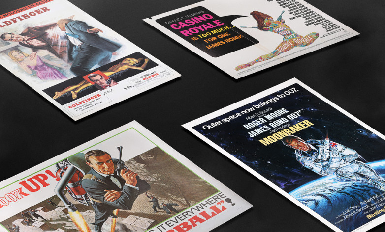 The Carter-Jones James Bond cinema poster collection