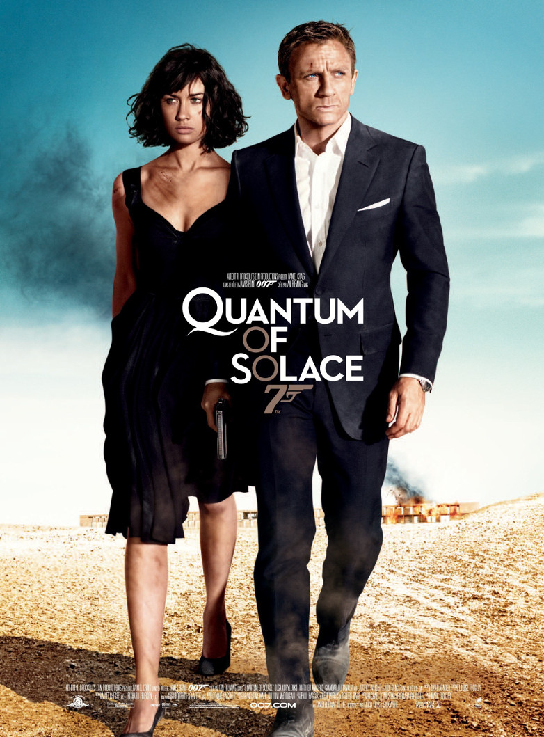 Quantum of Solace poster France