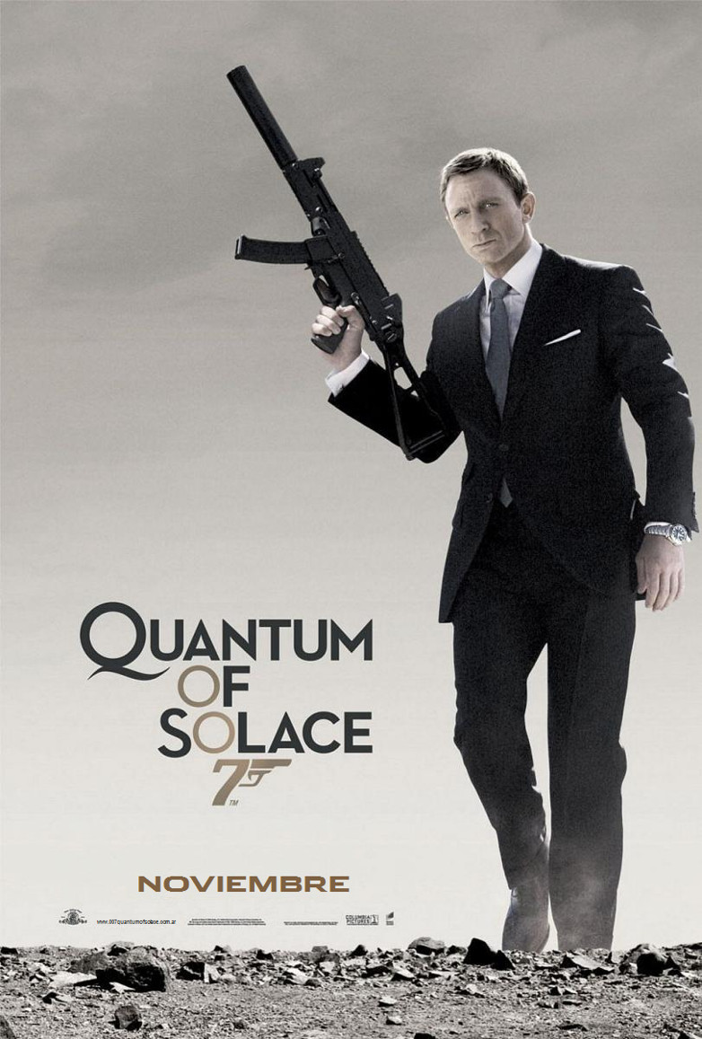 Quantum of Solace teaser poster Argentina