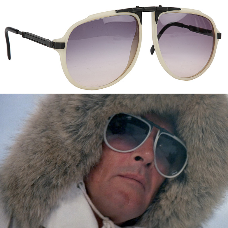James Bond (Roger Moore) Sunglasses from A View to a Kill