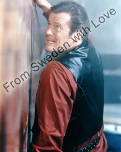 Roger moore private signing