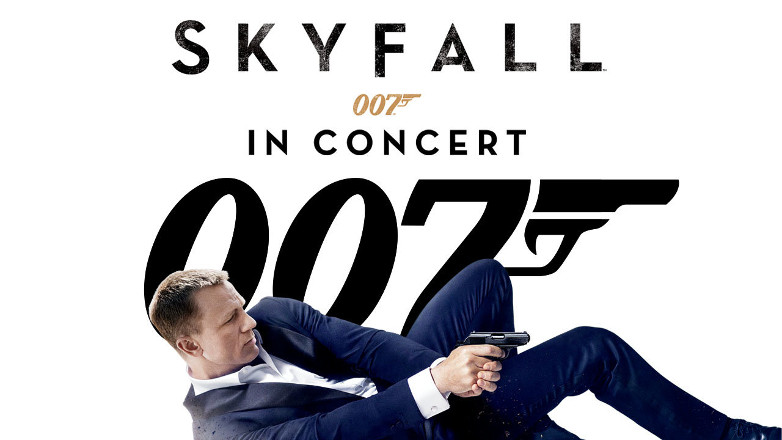 Skyfall in Concert World premiere Royal Albert Hal