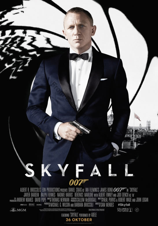 Skyfall saturn awards nominations 2013