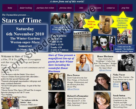 Stars of time nov 2010