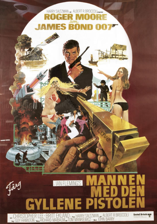 The man with the golden gun 40th anniversary
