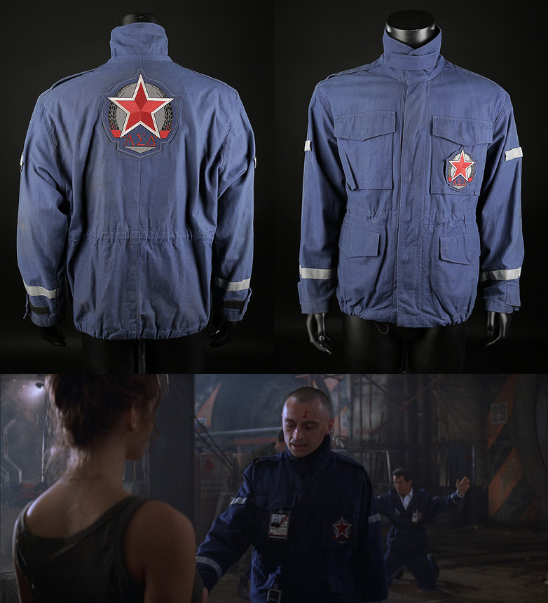 Renard's (Robert Carlyle) Nuclear Silo Jacket from the 1999 film The World Is Not Enough