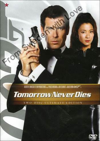 Tomorrow never dies dvd 2008