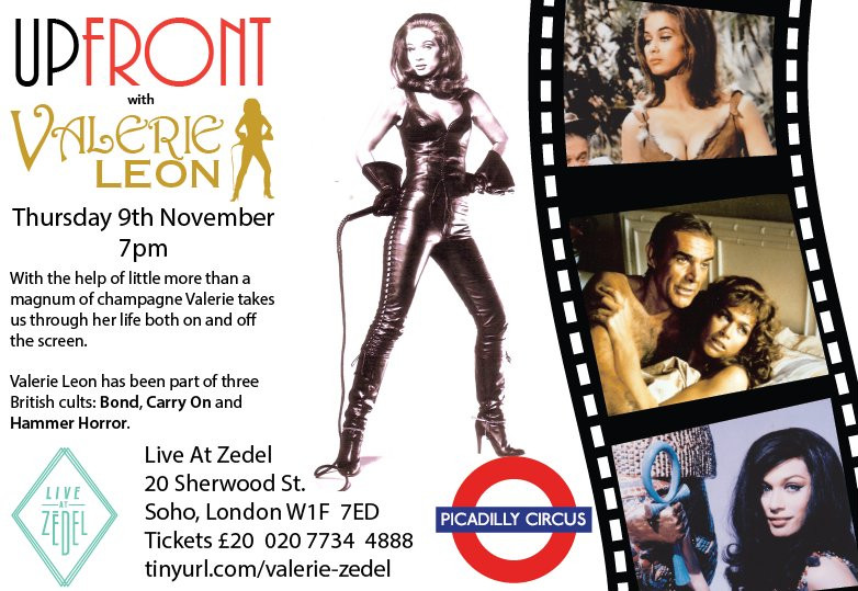 Valerie Leon Forever Carrying On event 2017