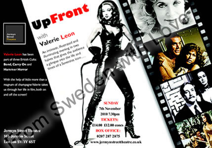 Valerie Leon Up Front