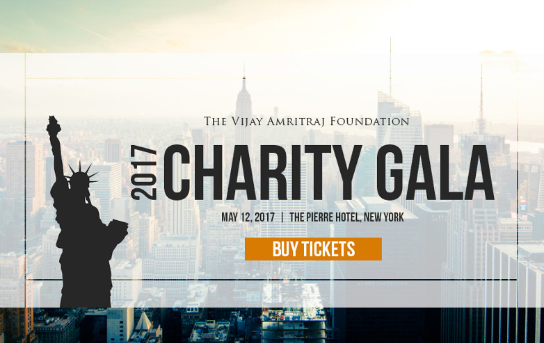 Vijay Amritraj Foundation charity gala 2017
