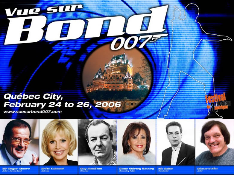 Vue sur bond james bond event quebec canada