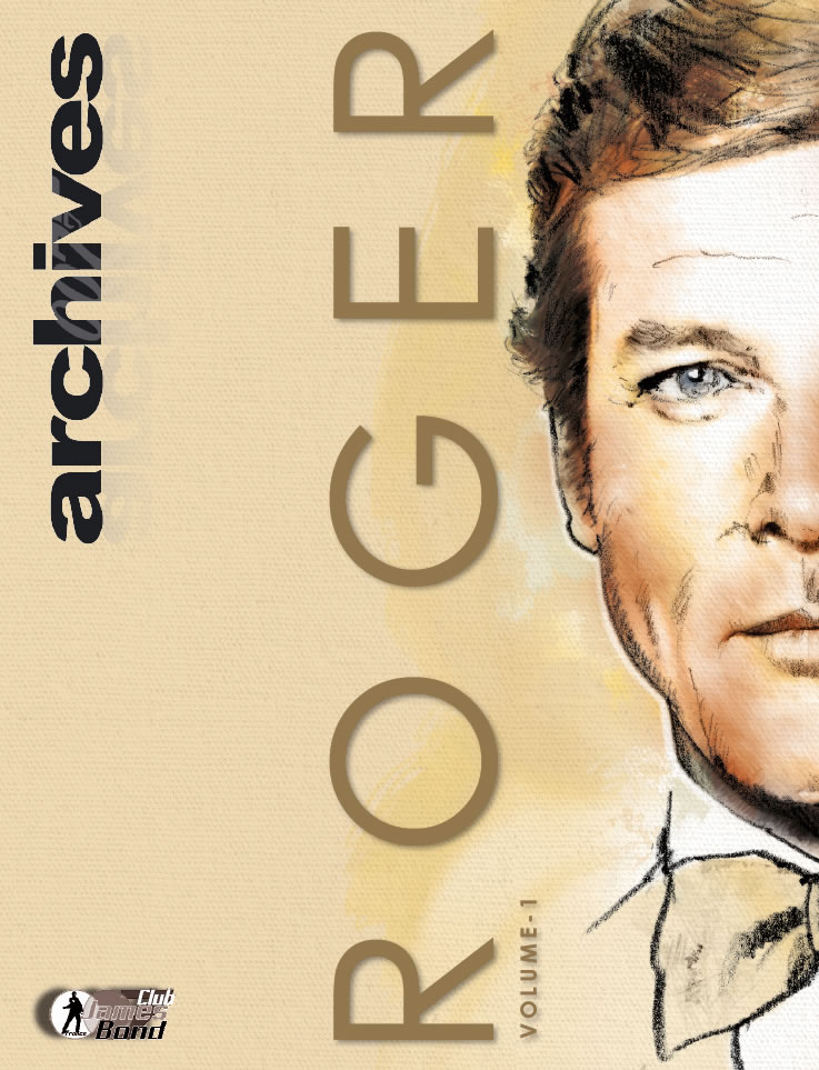 Issue 10 of French 007 Archives (Roger Moore part 1 of 2)